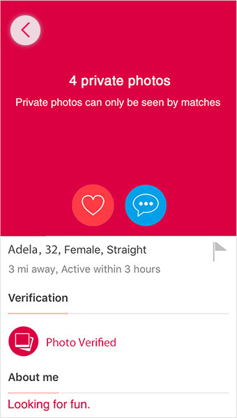 Privacy protection for threesome users
