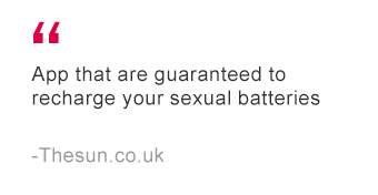 App to recharge your sexual batteries